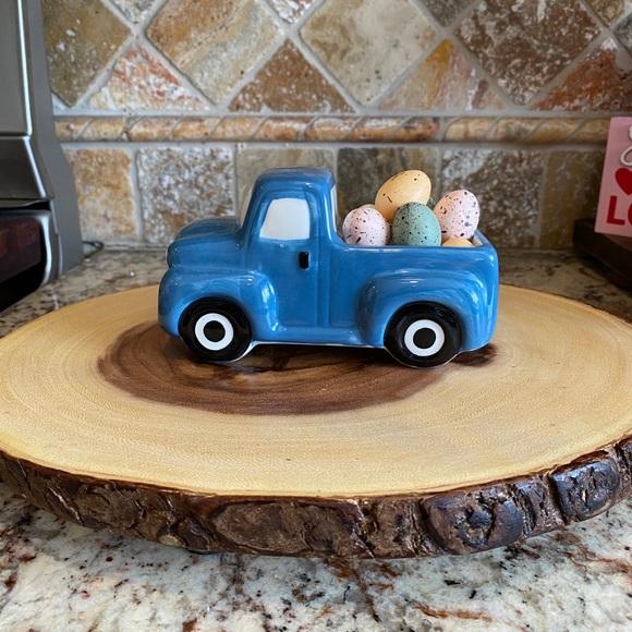 Blue Farmhouse Truck